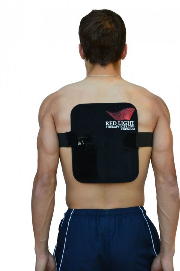 Pad on Human Back